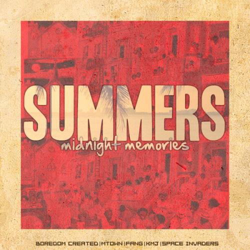 MTown's first project of the year, Summer's Midnight Memories. (click image to download thirst bucket)
