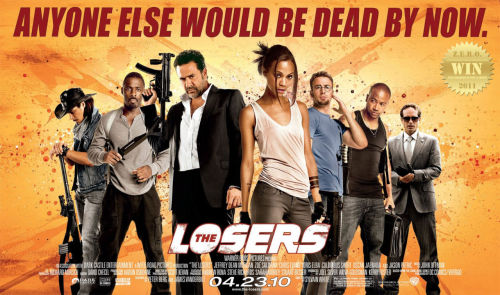 The Losers (2010) After being betrayed and left for dead, members of a CIA black ops team root out those who targeted them for assassination. Went through some old stuff… looking for fun… I grabbed this. Round 2 of The Losers (2010) was great! There was no mystery, but the fun and entertainment was still there. The elevator infiltration scene was as uplifting as it was the first time. Damn Cougar is a smooth character everyone loves. This isn't one of those films you dissect, you just sit back and digest. Action. Fun.