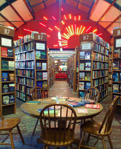 The magical Barter Books, Alnwick