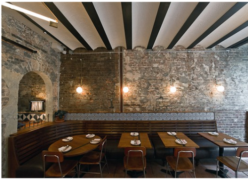 Here are the latest images of the Jason Volenec-designed restaurant, Tertulia, in which I assisted in the final stages of design. If you're in NYC check it out! The food is AMAZING.