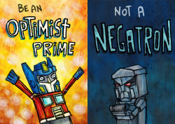 Don't be a negatron.
