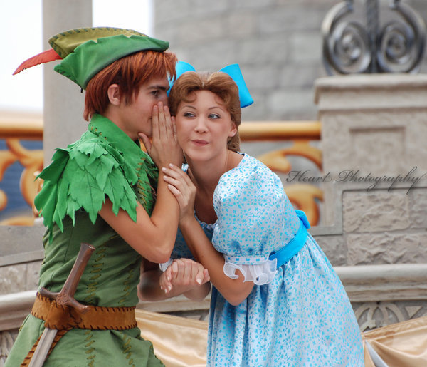 Peter Pan and Wendy by *AmaraXlXHeart