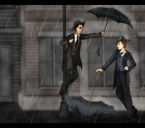 ripaille:  Singing in the Klaine Rain!