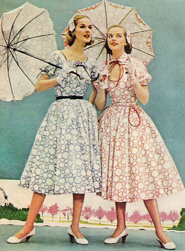 aristocraticdoll:  I would say, Lolita fashion of the 1950s? :) So elegant and pretty…