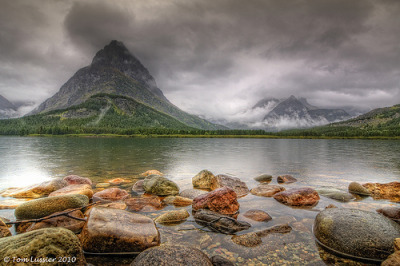 theworldwelivein:  Glacier Raindrops | Glacier National Park, Montana, USA©  Tom Lussier Photography  I can't believe this is a real place…  I want to go to there.