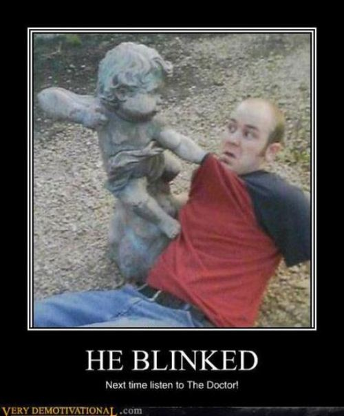 doctorwho:  He blinked.