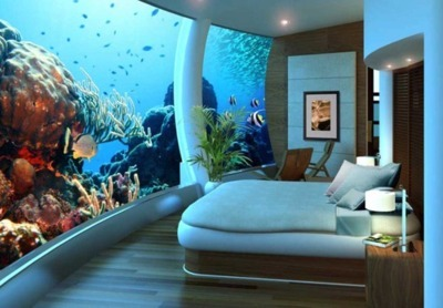 This is the coolest bedroom in the world. :O