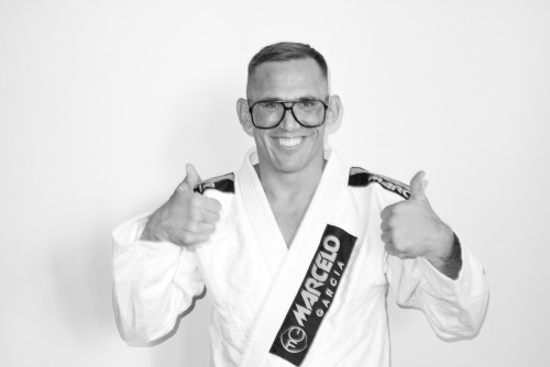 Paul Schreiner, BJJ black belt and coach at Marcelo Garcia's in NYC, gets photographed by Terry Richardson. Unexpected!  terrysdiary:  Paul as Me