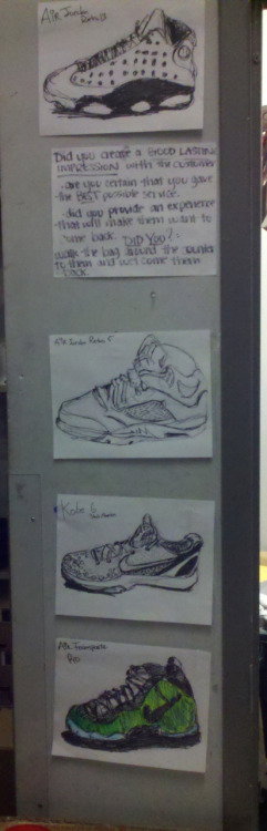 Part of galleria of sketches at #dayjob
