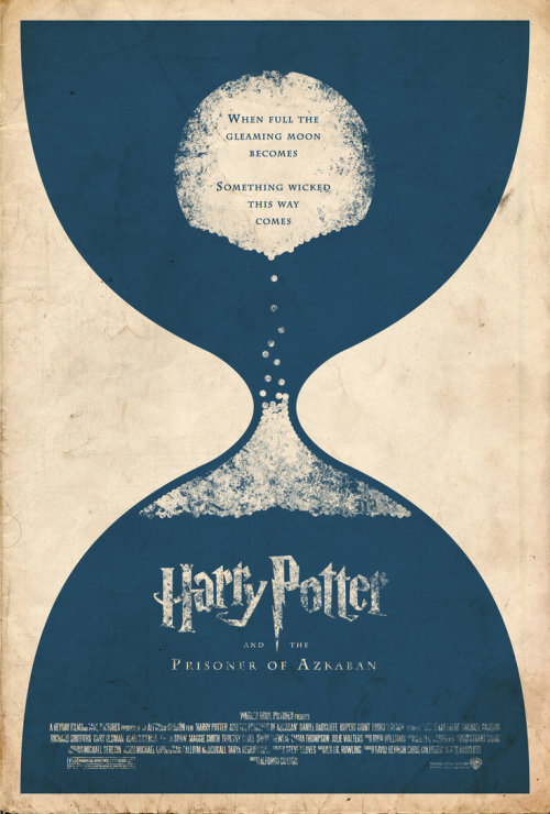 minimalmovieposters:  Harry Potter and the Prisoner of Azkaban by Adam Rabalais