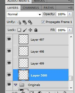 Down to the 500th layer of my vexel and I'm not even at the half of the whole thing yet. May laman yung mga layer na yan, sobrang liit lang kaya hindi makita.