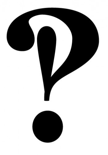 "This is an interrobang. It should have become a punctuation mark, but it never really caught on. Maybe it will in the future, but probably not. The keyboard is pretty well standardized by this point, and people seem happy enough to say, ""He hooked up with Sheila?!?!??!"" I think about the interrobang a lot when I am thinking about the habit we have, as a species, of assuming that the world in which we live was entirely inevitable—that we as contemporary humans are just along for the ride. But the truth is we all make up the world together as we go. We choose ?! over the interrobang. I know it feels like someone else has made this decision for us. But the truth is that together, we are making the decision right now."