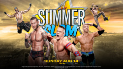 WWE SummerSlam 2011 Wallpaper by i-am-71