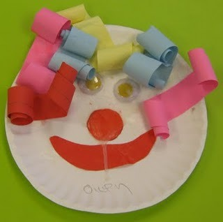 teachpreschool:  (via Kreative Resources: Clowning around)