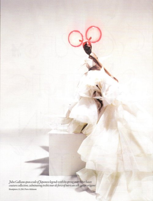 Jourdan Dunn in 'Unbelievable Fashion' by Tim Walker for Vogue UK 2008