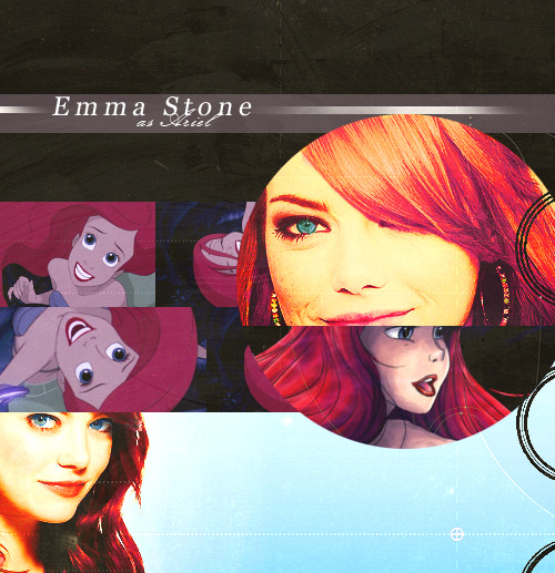 akwardandlovely:  Disney Live Action Dream Cast; Emma Stone as Ariel.