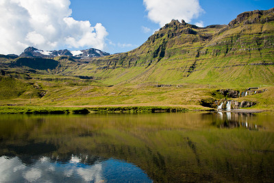 Near Kirkjufell on Flickr.