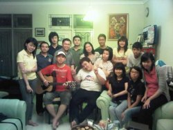 Carecell at Sister Ria's house  Guest: Everyone who believe in Jesus Faith-Fun-Friendship