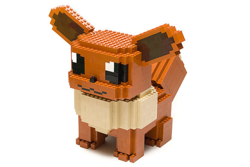 mintyfreshgames:  #133: Eevee by Filip Johannes Felberg on Flickr.#133: Eevee Eevee can evolve into seven different types of Pokémon. © 2011 Filip Johannes Felberg