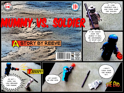 Another episode of Mummy vs. Soldier. Stay tuned for more!