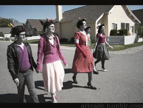Nepeta: gtaroo Aradia: gollywollypog Kanaya: lallafa Feferi: meidomame Eridan: arrcade oops i forgot to post a few of these!