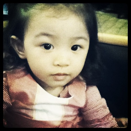 My niece, Jamila Rose's 2nd birthday today :-) (Taken with instagram)