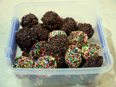 Day Two Hundred and Nineteen - Chocolate Truffles (by Yortw)