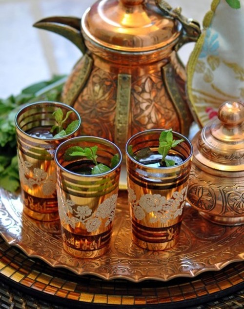 My Bohemian Celebration   Mmmm, Moroccan mint tea