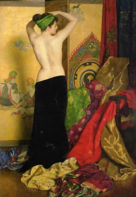 My Bohemian Aesthetic John Collier, Pomps and Vanities, 1917