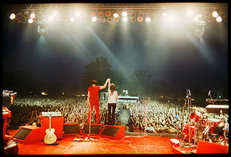 The White Stripes_Live Photography by: Danny ClinchDanny Clinch @:http://www.dannyclinch.com