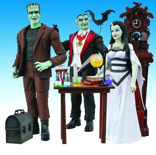 Munsters action figures - coming to a comic book store near you