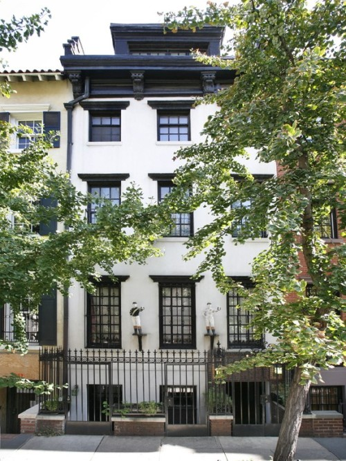 urbankick:  uma thurman's greenwich village townhouse