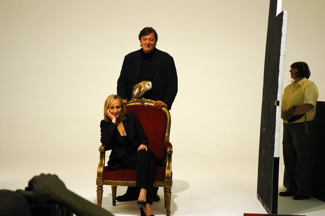 Stephen Fry and JK Rowling