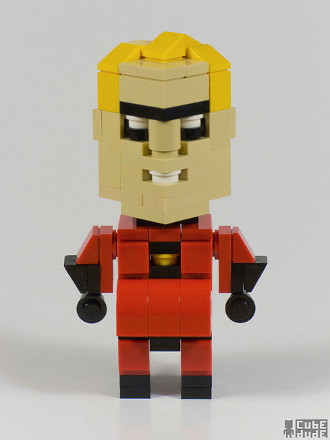 CubeDude Mr. Incredible by MacLane on Flickr.Mr. Incredible (Bob Parr)