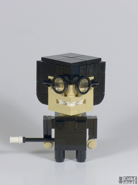 CubeDude Edna Mode by MacLane on Flickr. FUCK. I love Edna Mode so much. The Incredibles is one of my favorite movies BECAUSE of E. She makes the whole damn thing so much funnier.