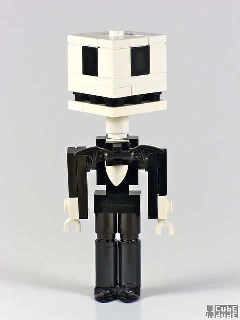 CubeDude Jack Skellington by MacLane on Flickr. What's this!