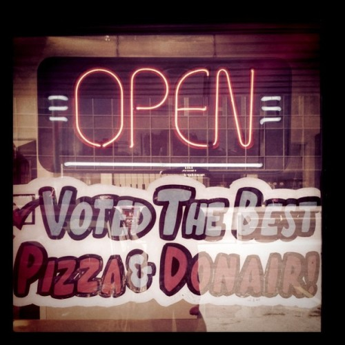 The people have spoken.  (Taken with Instagram at Big John's Pizza Market)