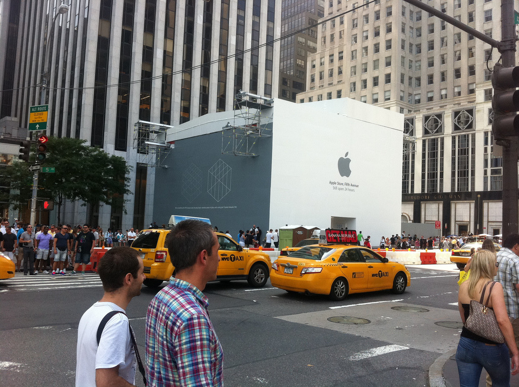Apple Store, Fifth Avenue. In a box. (via Dave Winer)