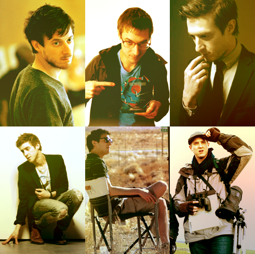 six photos; arthur darvill