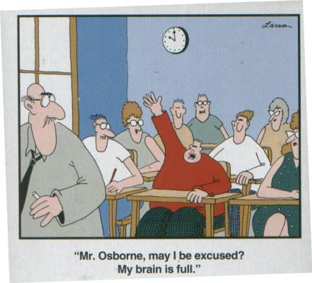 Friday afternoons are a tough slog. Here's a Gary Larson interview on Fresh Air from 2003.