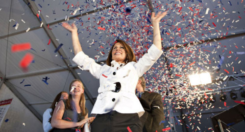 "thedailywhat:  Straw Poll Results of the Day: Rep. Michele Bachmann was declared the winner of the Ames GOP straw poll, securing her first place with a total of 4,823. Bachmann edged out her closest competitor, Congressman Ron Paul, by 152 votes. Former Minnesota Gov. Tim Pawlenty was second runner-up with 2,293 votes, closely followed by Rick Santorum (1,657) and Herman Cain (1,456). Texas Gov. Rick Perry, who officially announced his presidential candidacy today, beat out national GOP frontrunner Mitt Romney 718 to 567. Former U.S. House Speaker Newt Gingrich came in eighth with 385 votes. Nate Silver at FiveThirtyEight says the Ames Straw Poll's predictive track record is ""pretty good,"" with the winner of the caucus placing first or second in the straw poll every time since the event began in 1979.  [politico / dmr / 538.]"