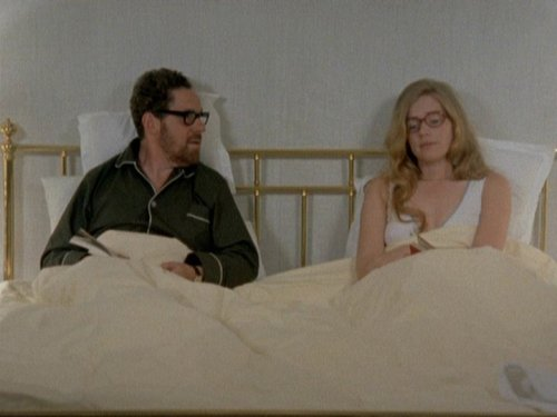 Scenes from a Marriage (Swedish: Scener ur ett äktenskap) 1973 have to stop watching Scandinavian films. they always make me cry.