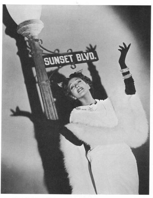 missstake:  Gloria Swanson in Sunset Blvd. promo shot