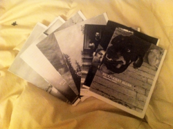 Look what I got in the mail! Some recent issues of Pickpocket Blues by The Faceless Kid. Follow him and subscribe!