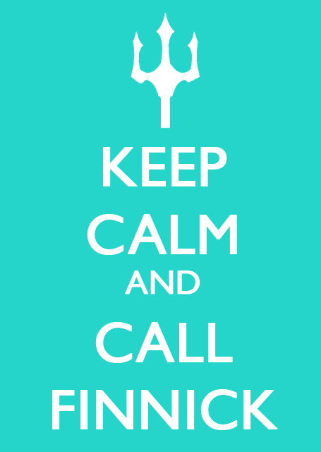 Keep Calm and Call Finnick #HungerGames More on the blog! :)