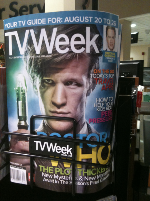 Yeah I took a photo of the tv guide at the grocery store. So what?