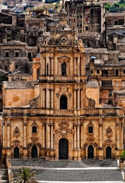 ysvoice:   | ♕ |  San Giorgio Cathedral - Ragusa, Sicily  | by © gmg/trekearth  via foolmoonn-deactivated20111211 : dirtyacid : elementics : vmburkhardt : brieflove : ysvoice : kthyk : … : earthstars : clocksinthecloset : dennisfredrickbrown : bassman5911  Beautiful