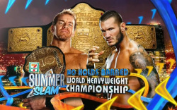 Christian vs. Randy Orton at SummerSlam 2011 SummerSlam 2011 - Christian defend his World Heavyweight Championship against Randy Orton in a No Holds Barred match http://bit.ly/mYxRH4
