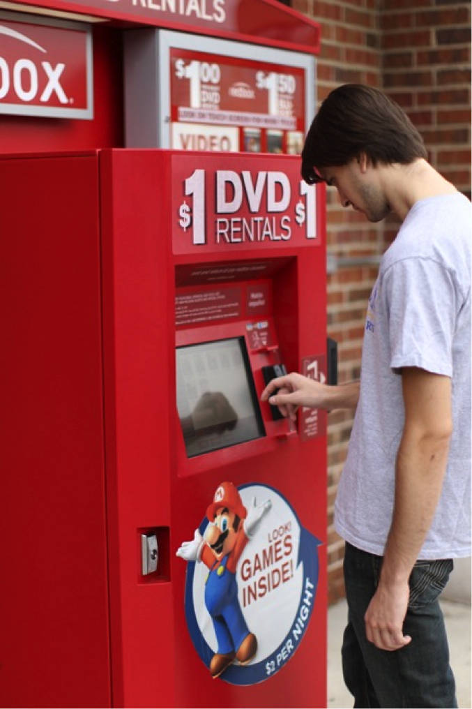 Redbox partners with foursquare