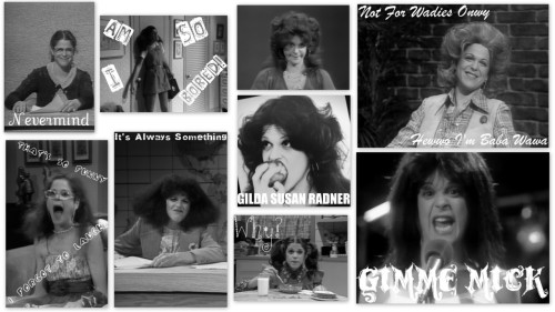 Gilda Radner character collage by heckyeahemilyregan. One day left for the art contest…ENTERE HERE!